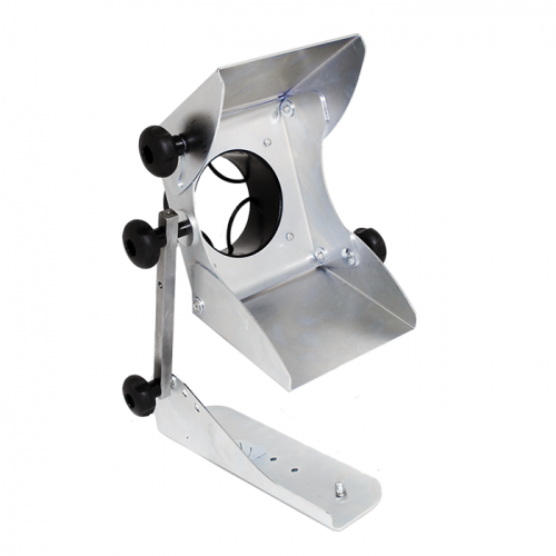 Magnetic dust extraction funnel