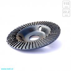 Brusni disk - ravna rašpla Ø115mm