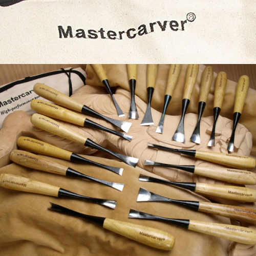 20-tool sculpture carving set