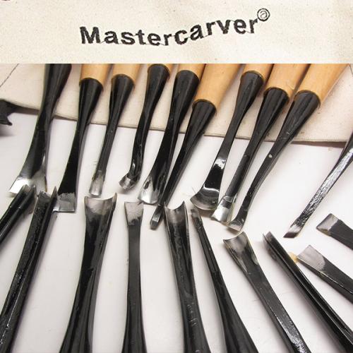 20-tool carving detail set