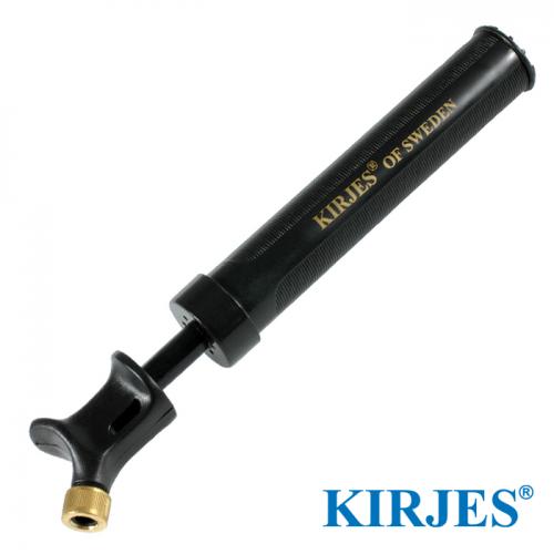 Hand-Luftpumpe für Kirjes Schleifsystem