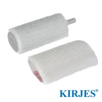 Bürstenhülse für Kirjes Schleifwalze Ø28 mm (2 Stück)