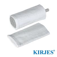 Stoff-Polierhülsen für Kirjes Schleifwalze Ø28 mm (2 Stück)