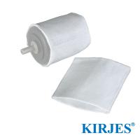 Stoff-Polierhülsen für Kirjes Schleifwalze Ø42 mm (2 Stück)