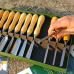 12 Piece Carving Chisel Set, Educational Booklet & DVD
