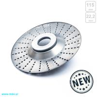 Roto disk rašplja 115mm