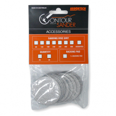 Sanding discs 50mm with adhesive