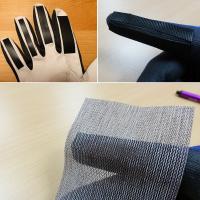 DIY Sanding gloves
