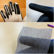 DIY Sanding gloves