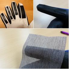 DIY brusne rokavice