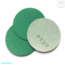 Sandpaper discs  Ø75mm (20 pcs)