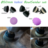 Foam bowl sander set