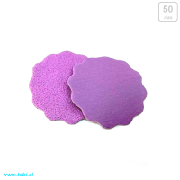 Sandpaper discs with wavy edge Ø50mm (25 pcs)