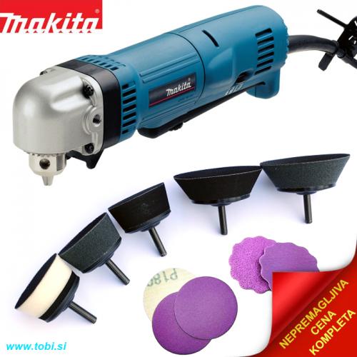 Makita right angle drill DA3010F set