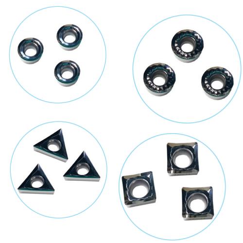 Replacable carbide blades