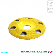 100mm sanding wheel SeeThrough