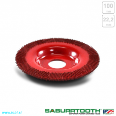 100mm flat grooving wheel